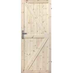 """Drzwi sosnowe, sęczne - """"Loft II"""" - Seria LOFT - Drzwi wewnętrzne drewniane """"RADEX"""""""