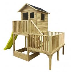 Drewniany domek ogrodowy dla dzieci - Hubert