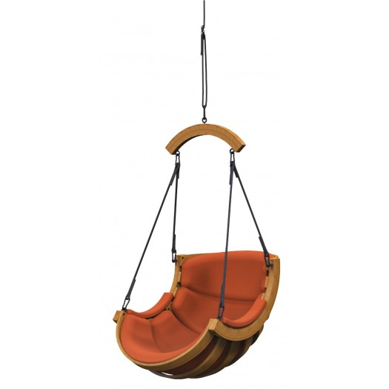 Podwieszany Fotel Alpha Luk Terracota - bujak ogrodowy