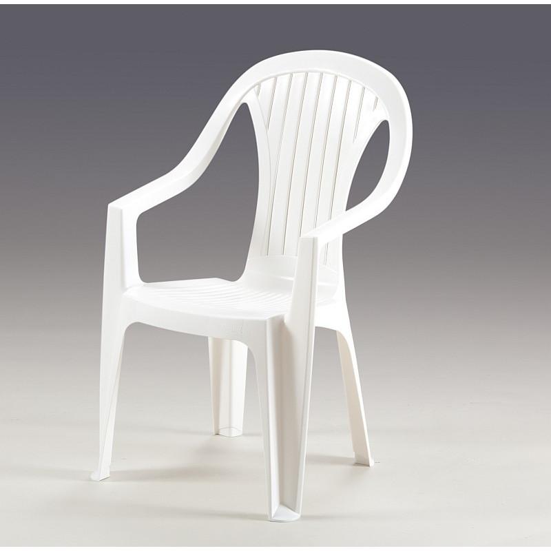 Krzesło Atlantide Białe Włoski Design