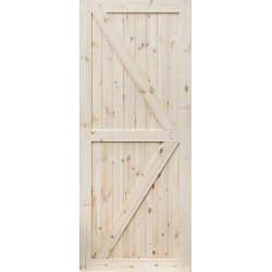 """Drzwi przesuwne - """"Loft II"""" - Seria D.I.Y. - Drzwi wewnetrzne drewniane """"RADEX"""""""