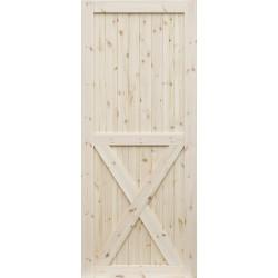 """Skrzydlo przesuwne - """"Loft X"""" - Seria Classic - Drzwi wewnetrzne drewniane """"RADEX"""""""