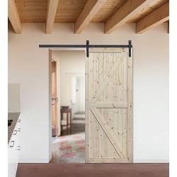 """Skrzydło przesuwne - """"Loft XO"""" - Seria Classic - Drzwi wewnętrzne drewniane """"RADEX"""""""
