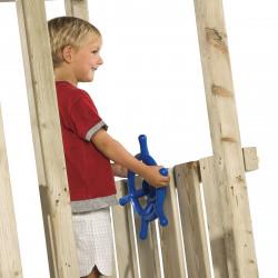 Koło sterowe - RED - zabawka edukacyjna na plac zabaw