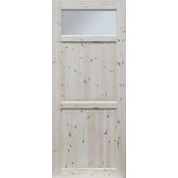 """Skrzydlo przesuwne - """"Lugano"""" wersja 1S - Seria Classic - Drzwi wewnetrzne drewniane """"RADEX"""""""