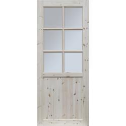 """Skrzydlo przesuwne - """"Lugano"""" wersja 6S - Seria Classic - Drzwi wewnetrzne drewniane """"RADEX"""""""