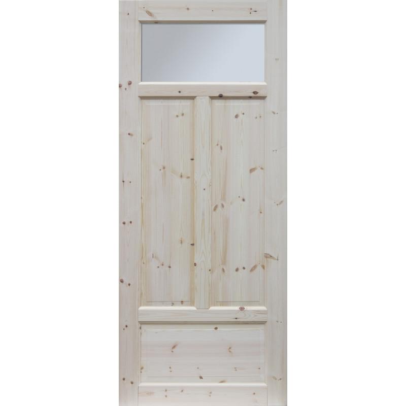 """Skrzydlo przesuwne - """"Verona"""" wersja 1S - Seria Classic - Drzwi wewnetrzne drewniane """"RADEX"""""""