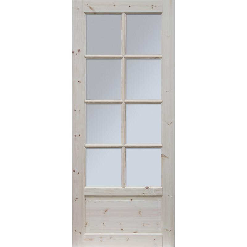 """Skrzydlo przesuwne - """"Verona"""" wersja 8S - Seria Classic - Drzwi wewnetrzne drewniane """"RADEX"""""""
