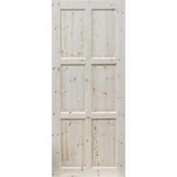 """Skrzydlo przesuwne - """"Czapla"""" pelne - Seria Classic - Drzwi wewnetrzne drewniane """"RADEX"""""""