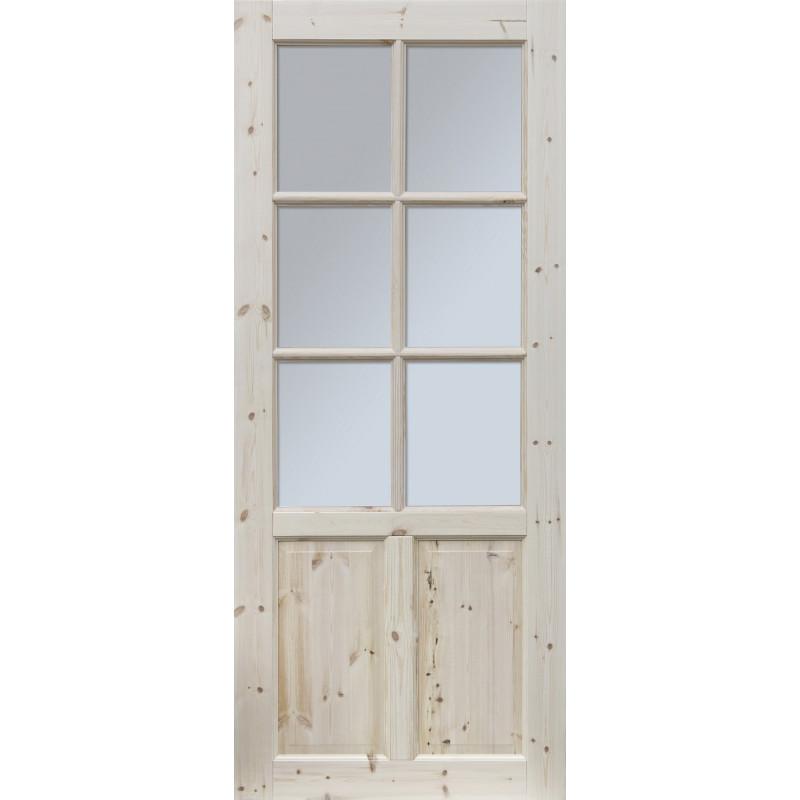 """Skrzydlo przesuwne - """"Czapla"""" wersja 6S - Seria Classic - Drzwi wewnetrzne drewniane """"RADEX"""""""