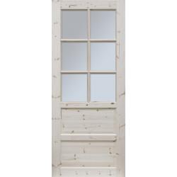 """Skrzydlo przesuwne - """"Ilawa"""" wersja 6S - Seria Classic - Drzwi wewnetrzne drewniane """"RADEX"""""""