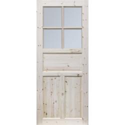 """Skrzydlo przesuwne - """"Londyn Lux"""" wersja 4S- Seria Classic - Drzwi wewnetrzne drewniane """"RADEX"""