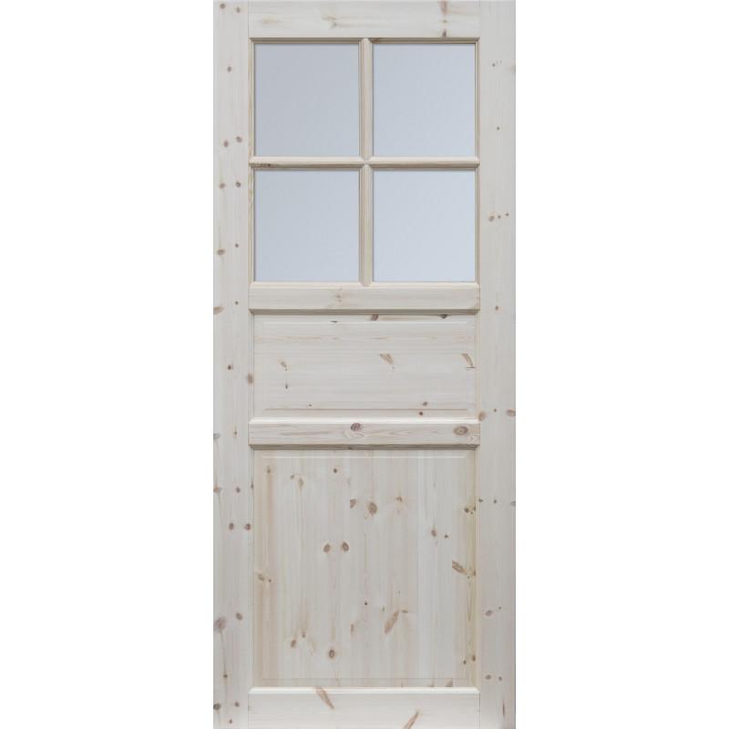 """Skrzydlo przesuwne - """"Normandia"""" wersja 4S- Seria Classic - Drzwi wewnetrzne drewniane """"RADEX"""