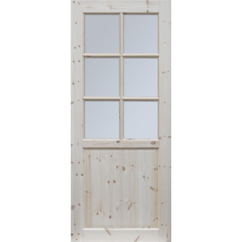 """Skrzydlo przesuwne - """"Normandia"""" wersja 6S - Seria Classic - Drzwi wewnetrzne drewniane"""