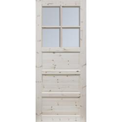 """Skrzydlo przesuwne - """"Ilawa"""" wersja 4S- Seria Classic - Drzwi wewnetrzne drewniane """"RADEX"""