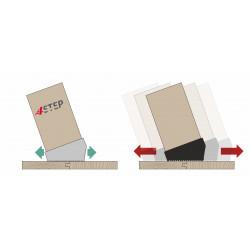 Stopki silikonowe do schodów strychowych drewnianych