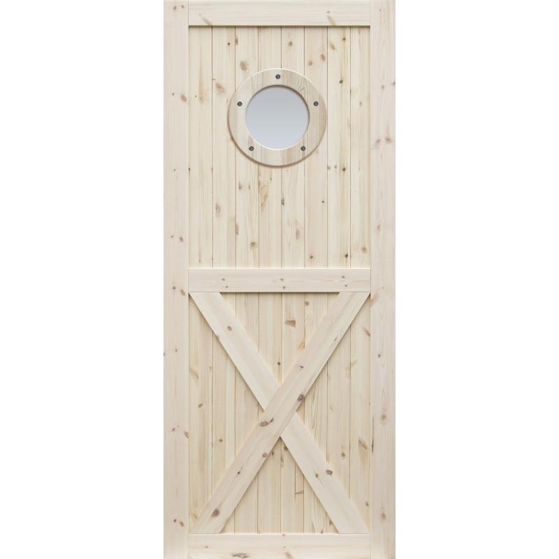 """Skrzydlo przesuwne - """"Loft XO"""" - Seria Classic - Drzwi wewnetrzne drewniane """"RADEX"""""""
