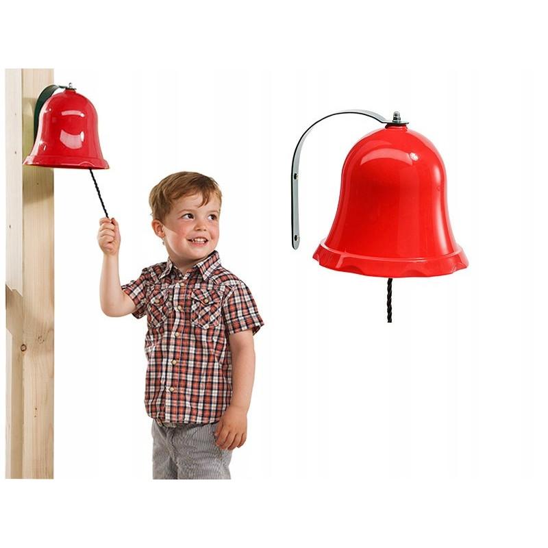 Dzwonek czerwony na place zabaw - Zabawka edukacyjna