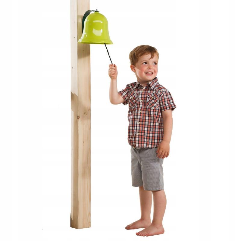 Dzwonek zielony na place zabaw - Zabawka edukacyjna