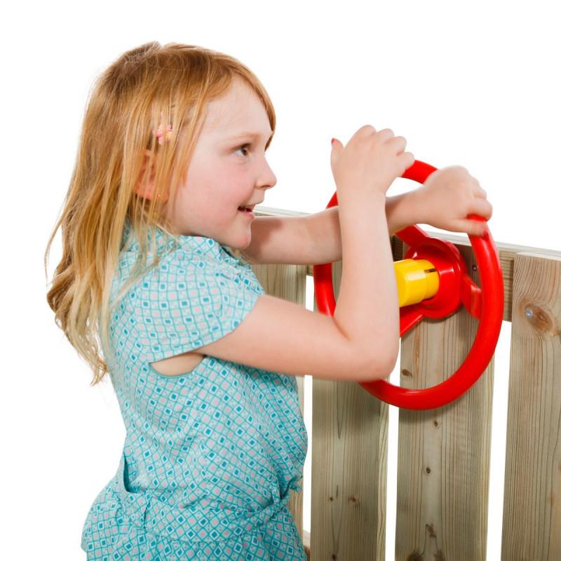 Kierownica na plac zabaw - Niebieska - Zabawka edukacyjna