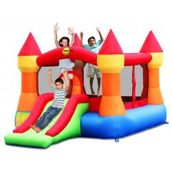 Dmuchany ZAMEK duzy trampolina HappyHop dmuchawa