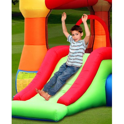 Dmuchany ZAMEK duży trampolina HappyHop dmuchawa