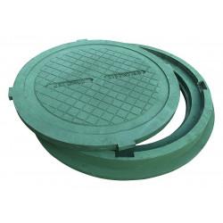 Pokrywa 80 HD szamba zielony polimer