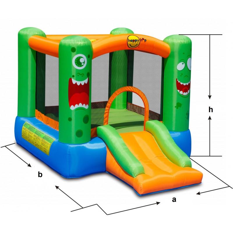 Dmuchany zamek POTWÓR trampolina HappyHop dmuchawa