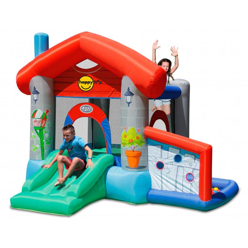 Dmuchany zamek DOMEK trampolina HappyHop dmuchawa