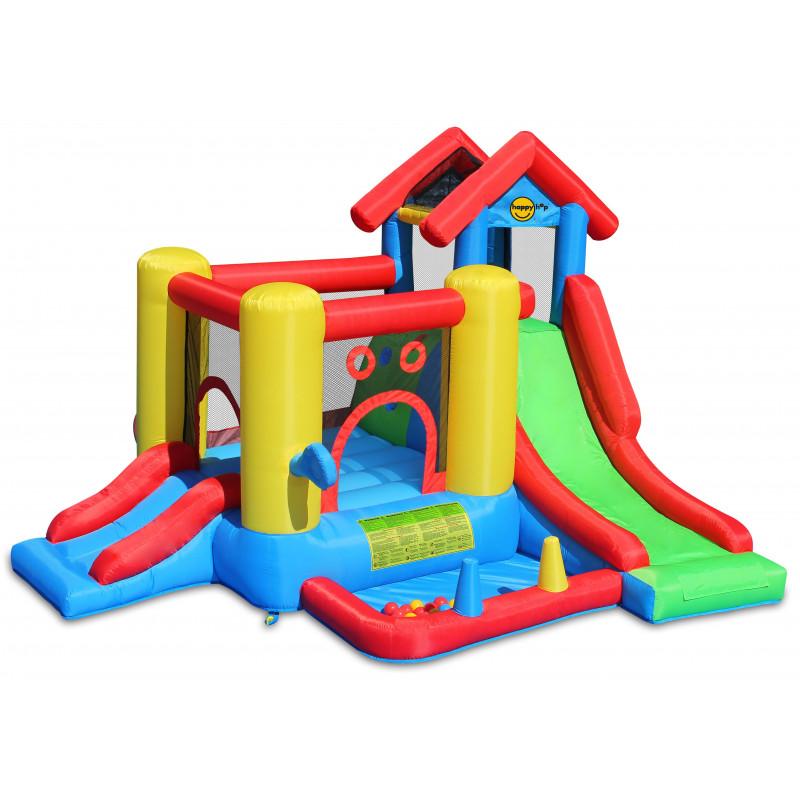 Dmuchany zamek WIEZA trampolina HappyHop dmuchawa