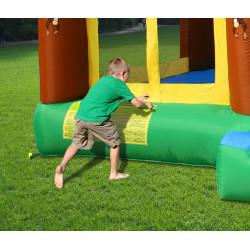 Dmuchany zamek DŻUNGLA trampolina HappyHop dmuchaw
