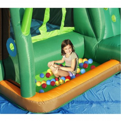 Dmuchany zamek SŁOŃ trampolina HappyHop dmuchawa