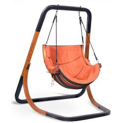 Fotel Steel Alpha Terracota - bujak ogrodowy