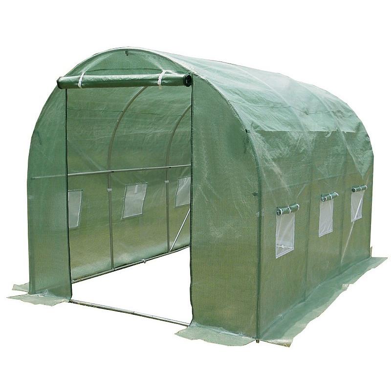Tunel Szklarniowy 7m2 PREMIUM Green 2x3,5m