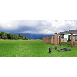 EKO - Kotwa stabilizacyjna 70x70 mm do domków drewnianych, płotów, pergoli, konstrukcji