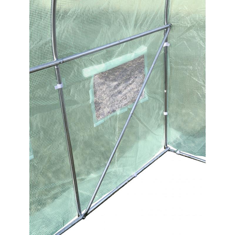 Pokrycie do tunelu szklarniowego 4iQ 2,5x4m ZIELONE