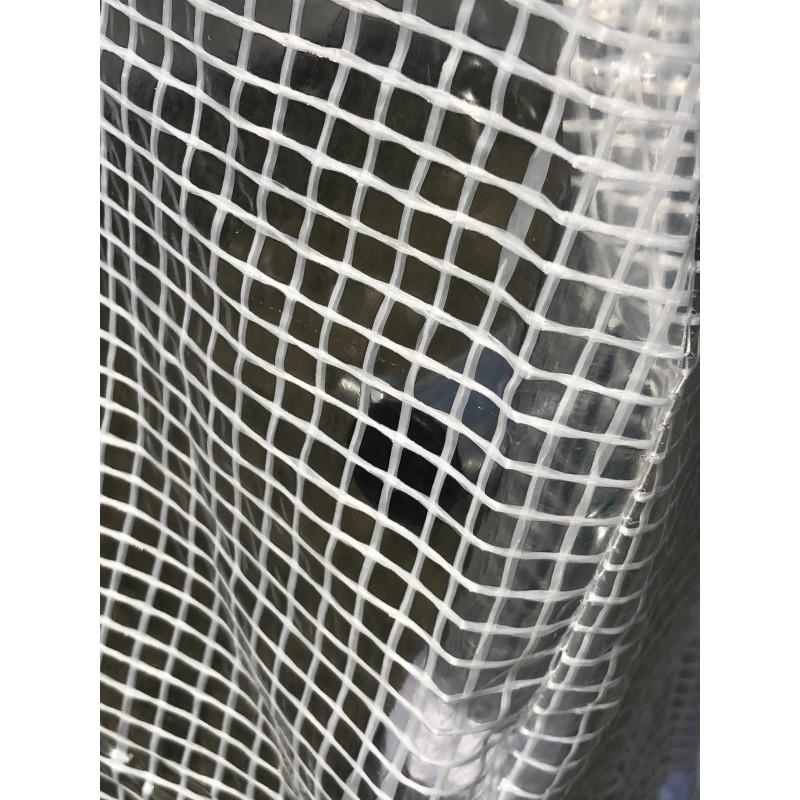 Pokrycie do tunelu szklarniowego 4iQ 2x4,5m Białe