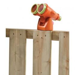 Lornetka na place zabaw i do domków drewnianych