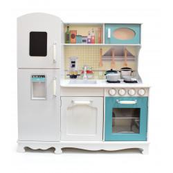 Tradycyjna Drewniana Kuchnia dla Dzieci EMILIA