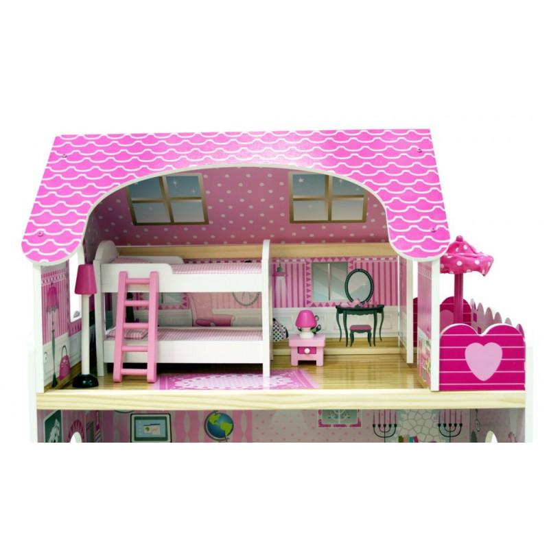 SONIA - domek dla lelek z basenem i stawem