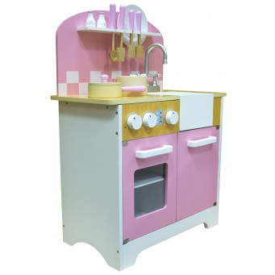DAISY Piękna Kuchnia Drewniana dla Dzieci Gadżety