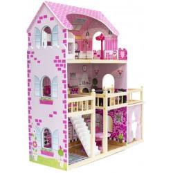 NADIA - domek dla lalek. Taras i altanka