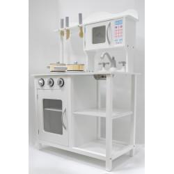 BEATA Drewniana kuchnia dla dzieci w stylu ART DECO