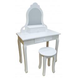 Bella - biala toaletka