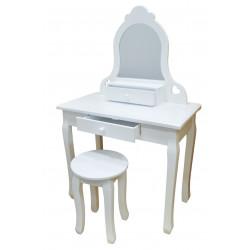 Bella - klasyczna biała toaletka
