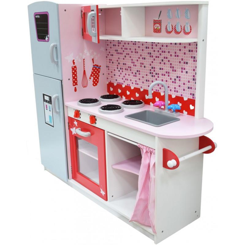 ANETA Drewniana kuchnia w stylu Pin-Up