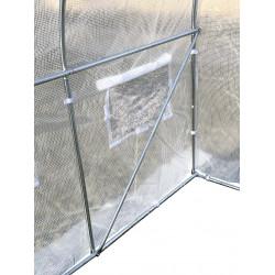 Pokrycie do tunelu szklarniowego 4iQ 2x2m Białe