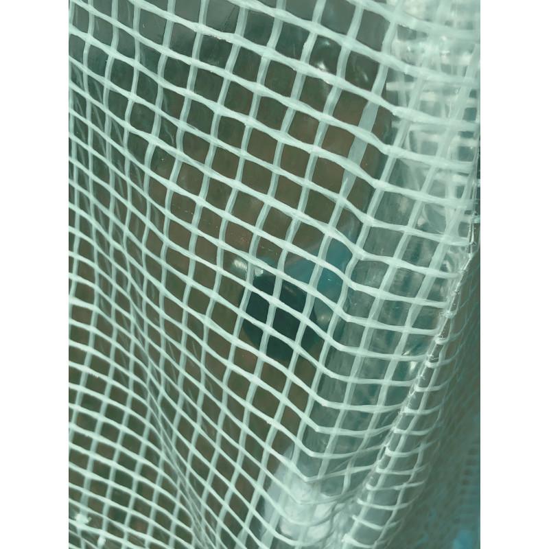 Pokrycie do tunelu szklarniowego 4iQ 2x2m Zielone