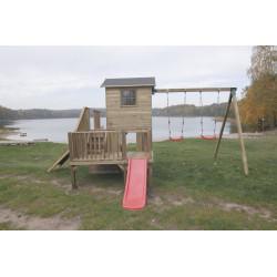 Dostawka Do Domków Drewnianych Podwójna Huśtawka Hektor