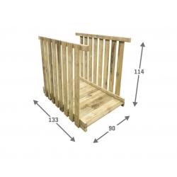 Mostek do Wież Placu Zabaw Hektor 80x133x114 cm
